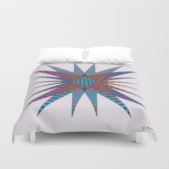Mystic Crystal Duvet Cover