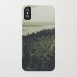 A perfect goodbye iPhone Case