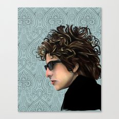 Bob Dylan Portrait Canvas Print