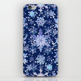 Snowflakes #3 iPhone Skin