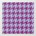 Houndstooth - Purple by dizanadesigns