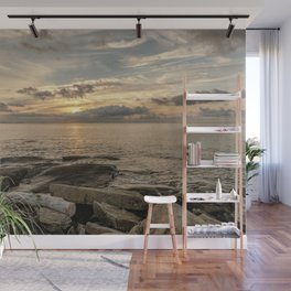 July Sunset at Flatrock's Wall Mural