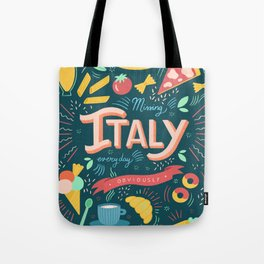 Missing Italy everyday poster Tote Bag