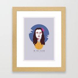 In The Flesh - Amy Dyer Framed Art Print