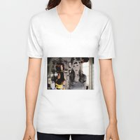 buffy V-neck T-shirts featuring After Heaven - Buffy  by Hannah