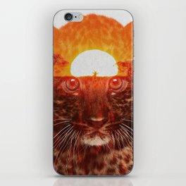 Leopard Cub iPhone Skin