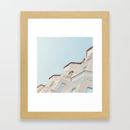 Stucco Framed Art Print