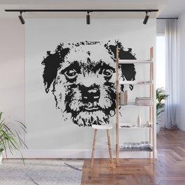 BORDER TERRIER DOG Wall Mural