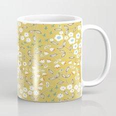 Ditsy Mustard Mug