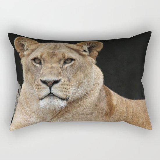 The lion 4 Rectangular Pillow