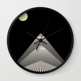 Pathway to Enlightenment Wall Clock
