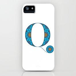 Q - Amarilis iPhone Case