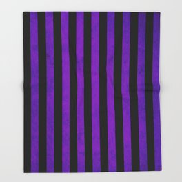 Stripes Collection: Hypnotic Throw Blanket