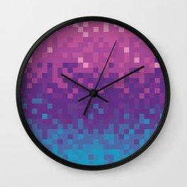 Pixel color Wall Clock