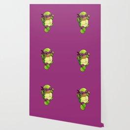 TMNT_POKET_MONSTER_purple Wallpaper