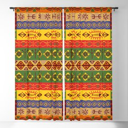 African Colors Blackout Curtain