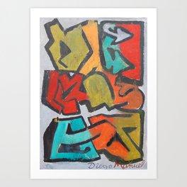 Grafitti 9 Art Print
