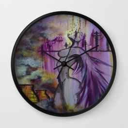 Toxic Angel Wall Clock