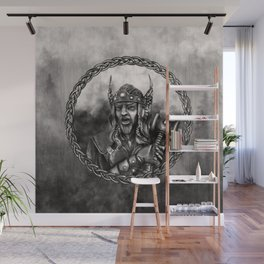 Thor - Norse God of thunder Wall Mural