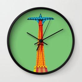 Parachute Jump Wall Clock