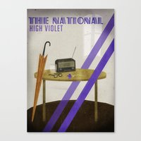 the national Canvas Prints featuring The National by Seana Seeto