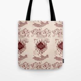 Marauder's Map Tote Bag