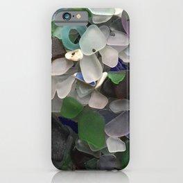 Sea Glass Assortment 3 iPhone Case