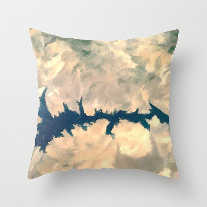 Conflict Desert Throw Pillow By Sorogon Society6