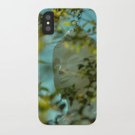 Buddha in the Bush iPhone Case