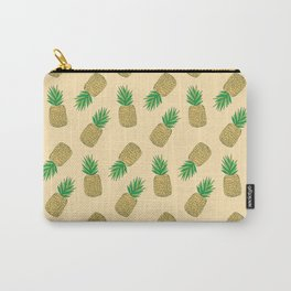 Creamy Pineapple Summer Pattern Carry-All Pouch