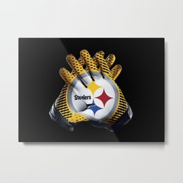 Pittsburgh Gloves Metal Print