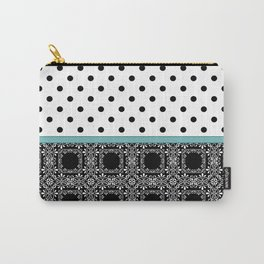 A combined decorative pattern . Carry-All Pouch