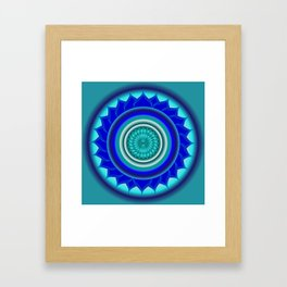 Claircognizant Framed Art Print