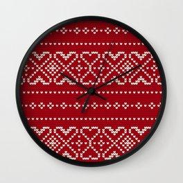 Pattern in Grandma Style #67 Wall Clock
