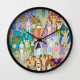 Sun Tan City Wall Clock