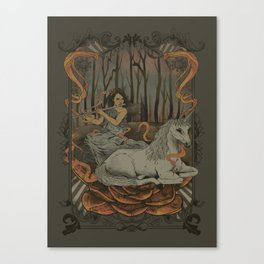 An Old Myth Canvas Print