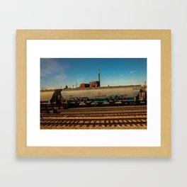 H20 Train Car. St. Louis, Mo Framed Art Print