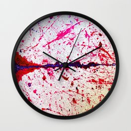 Brain's Matter Red Wall Clock