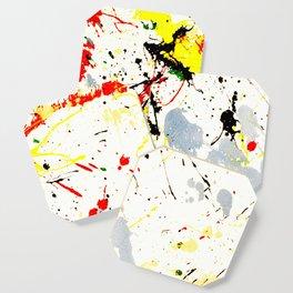 Paint Splatter Coaster