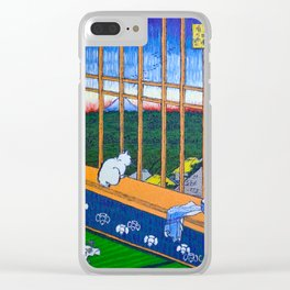 Asakusa Tanbo Tori No Machi Mode (after Hiroshige) Clear iPhone Case