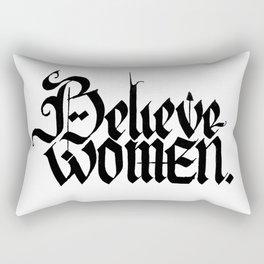 Believe Women Rectangular Pillow