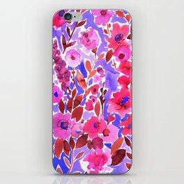 Isla Floral Purple iPhone Skin