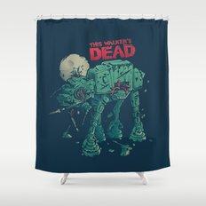 Walker's Dead Shower Curtain