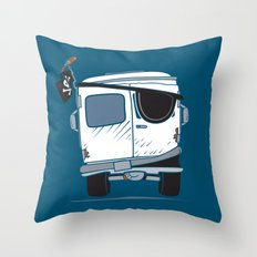 The Booty Wagon Throw Pillow