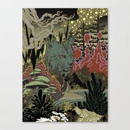 Zen Lynx Canvas Print