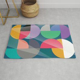 Glowing composition Rug