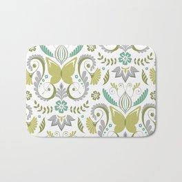Butterfly Damask - Spring Mod Bath Mat