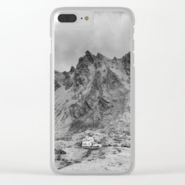 Transfagarasan #4 Clear iPhone Case