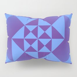 Abstract Triangles - Cosmic Pillow Sham