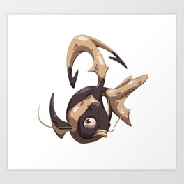 Iisy Fish Art Print